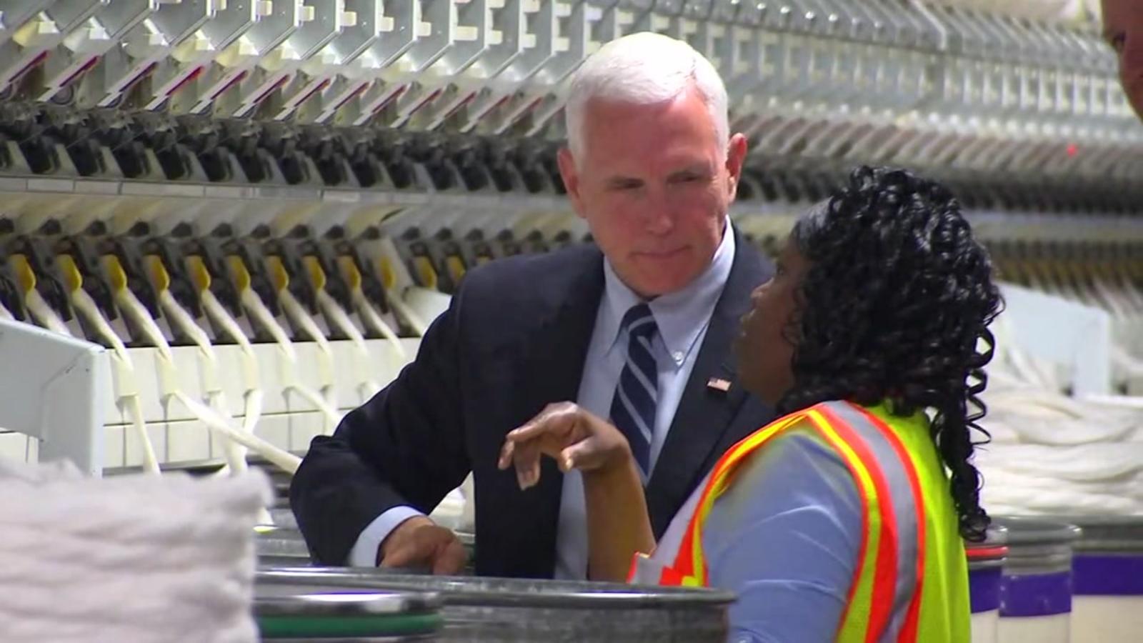 Vice President Mike Pence visits North Carolina