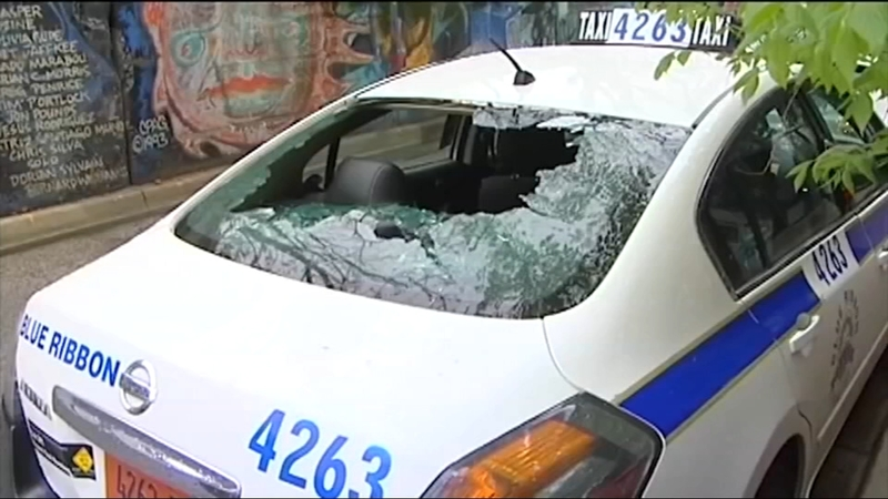 At Least 12 Car Windshields Windows Smashed In Rogers Park