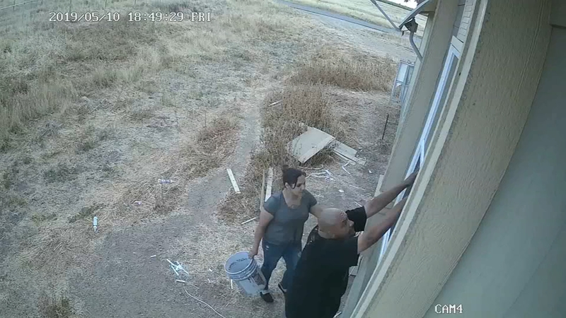 Deputies searching for thieves caught on camera stealing from Fresno County  home