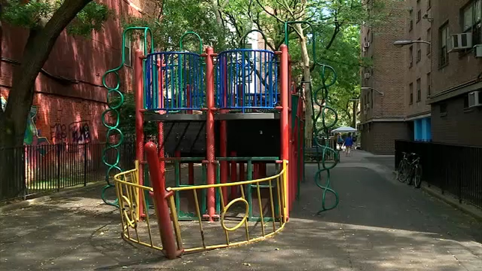 NYCHA considering tearing down newly renovated playground to build high rise