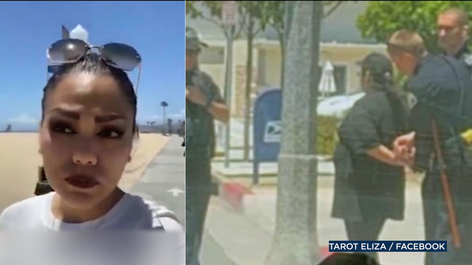 Racist insults hurled at woman as she's livestreaming on Newport Beach