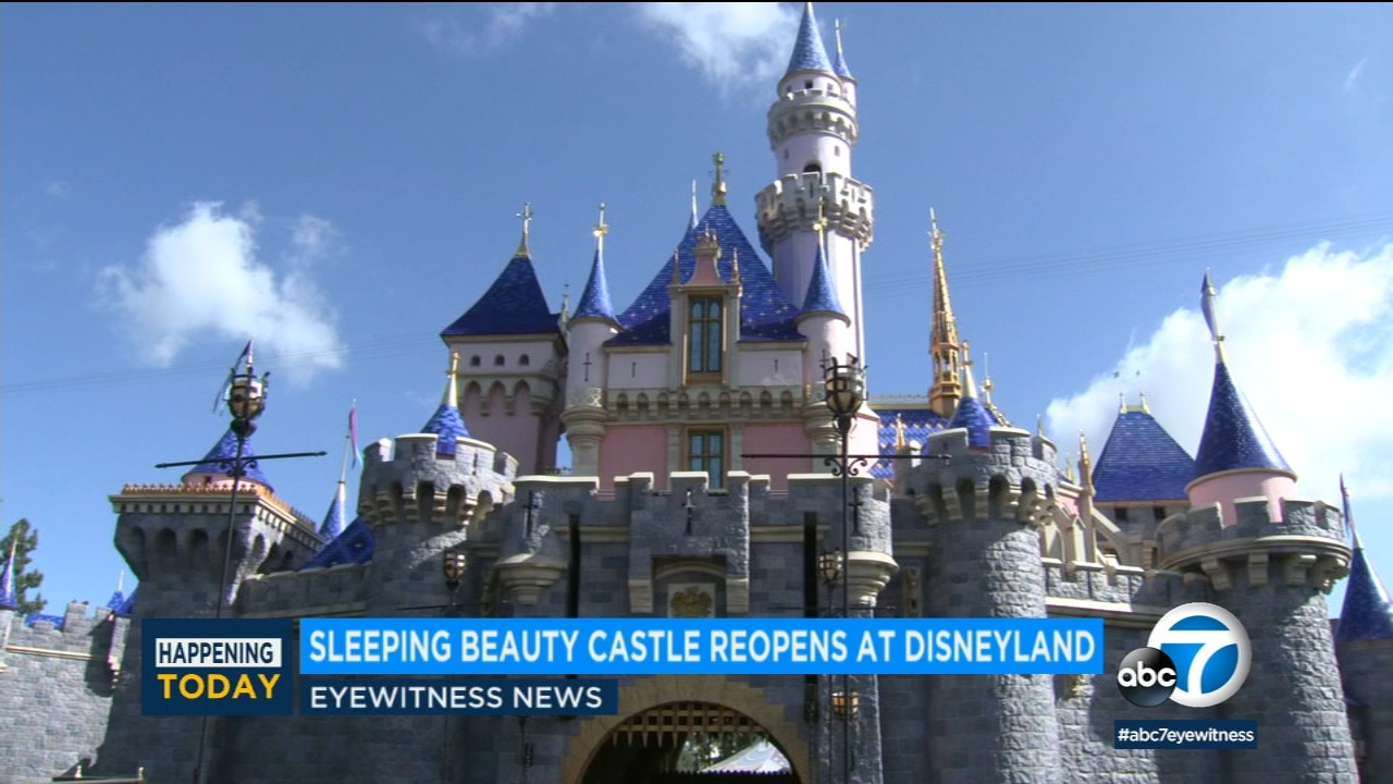 Disneyland's Sleeping Beauty Castle reopens with new touches