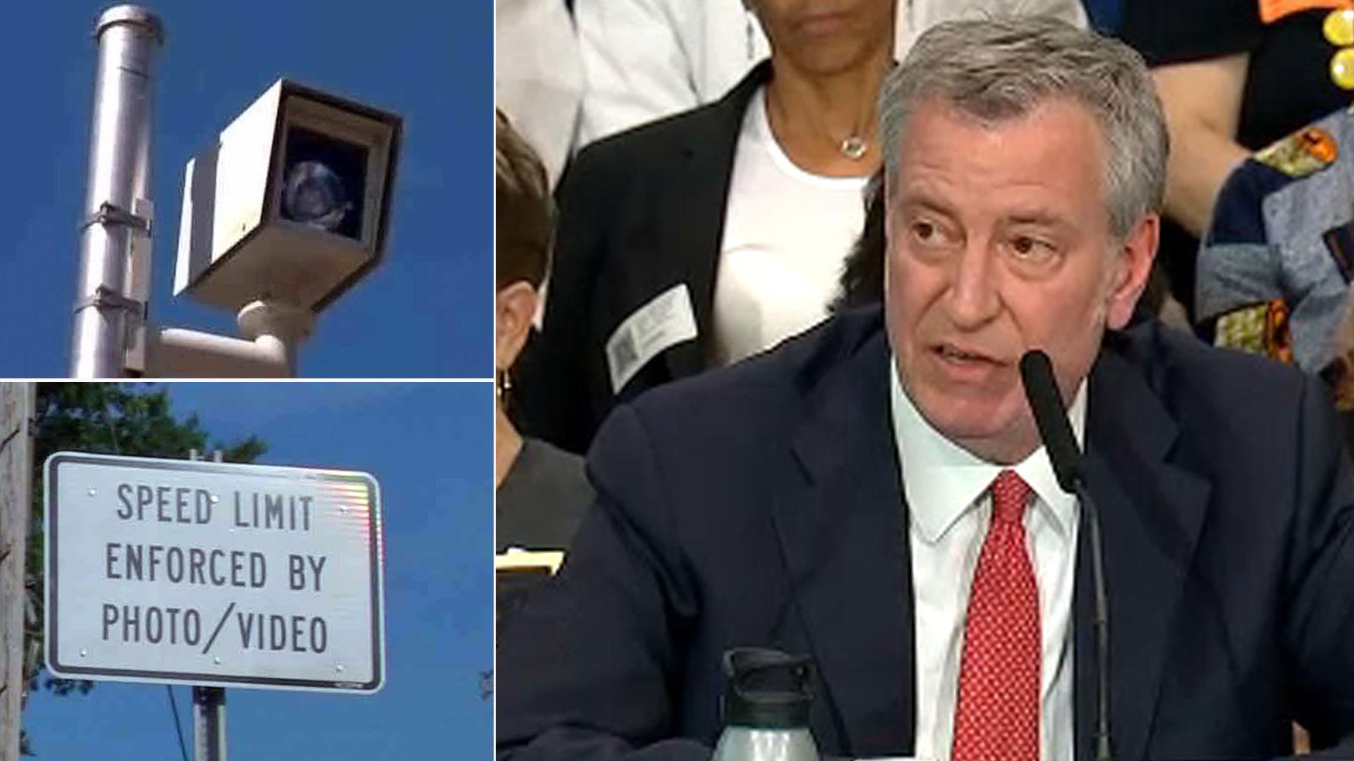 Mayor plans major expansion of speed cameras in New York City school zones