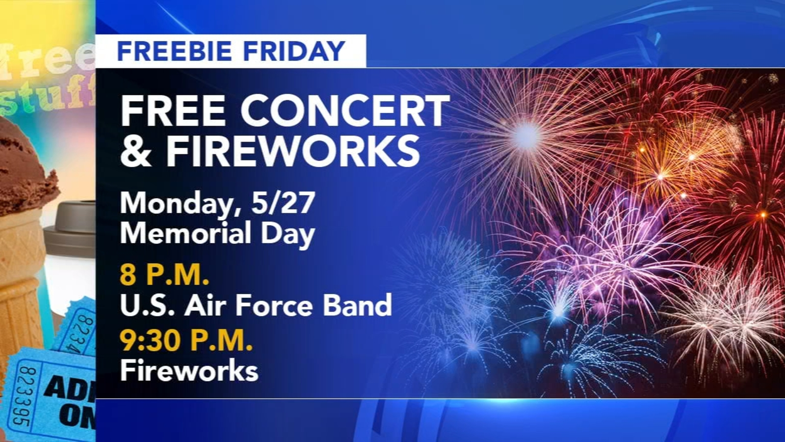 Freebie Friday: Fishing, fireworks and Memorial Day family fun