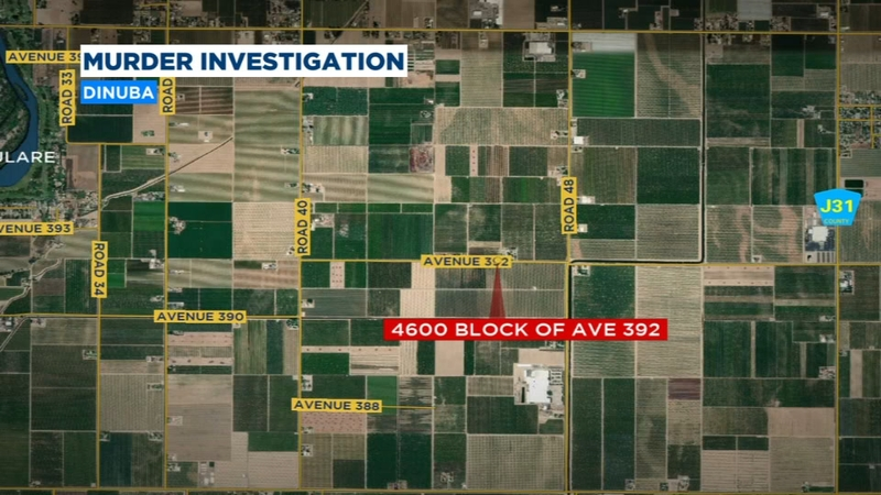 Tulare County Sheriff's Office investigating homicide in Dinuba
