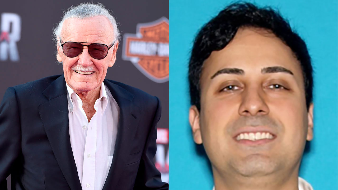 Stan Lee's ex-business manager arrested after being charged with elder abuse of Marvel legend, LAPD says