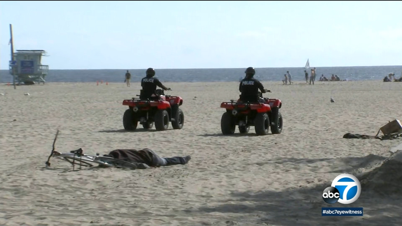 LAPD debuts new beach patrol bikes and quads for Memorial Day weekend