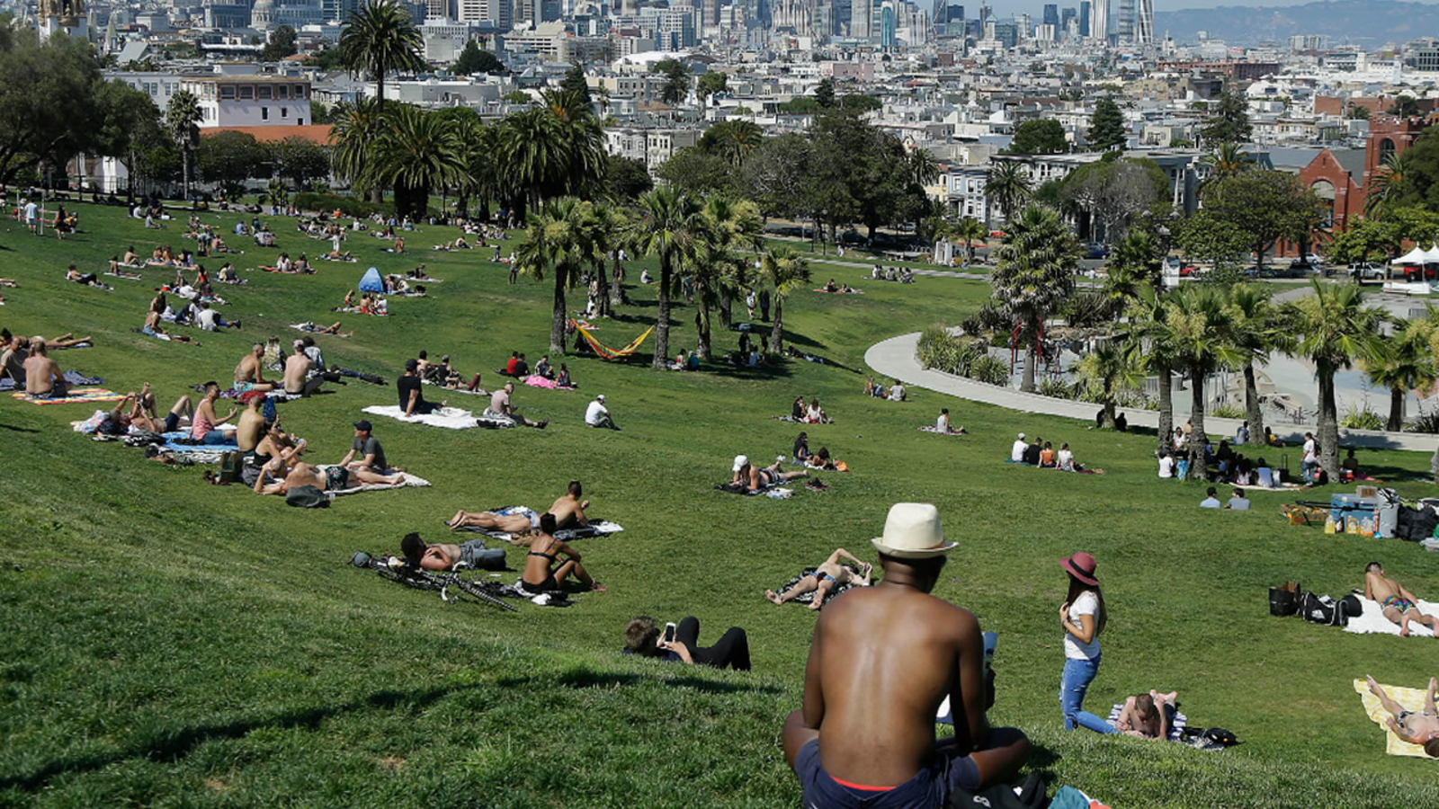 Police respond to shooting at San Francisco's Dolores Park, 1 victim reported