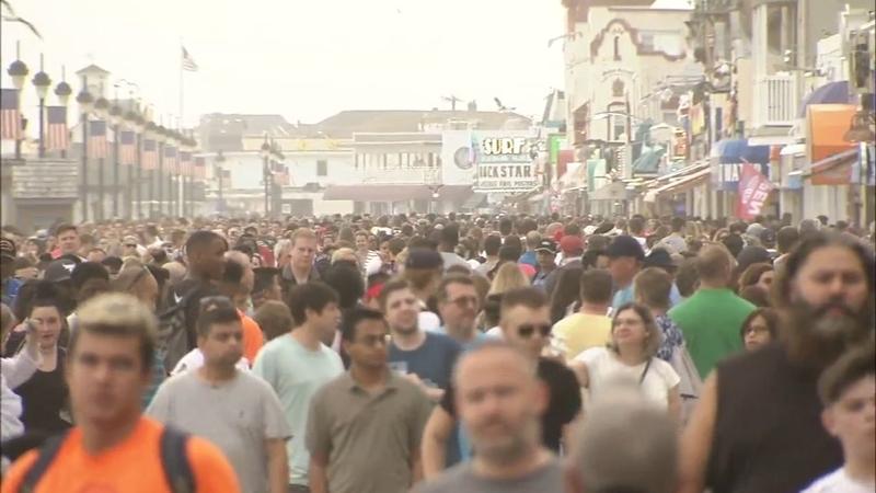 Thousands enjoy Memorial Day weekend in Ocean City