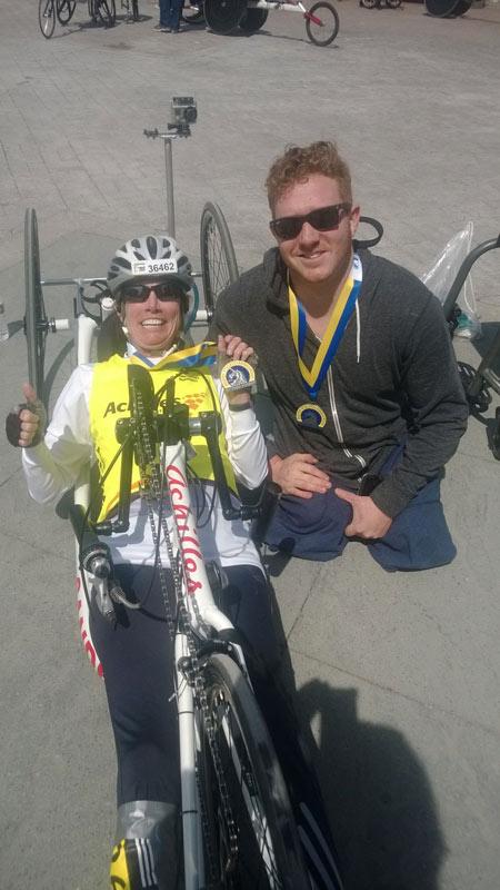 "<div class=""meta image-caption""><div class=""origin-logo origin-image kabc""><span>KABC</span></div><span class=""caption-text"">Beth Sanden finishes the Boston Marathon in 2011. (North America)</span></div>"