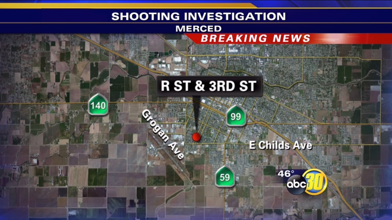 Merced shooting sends woman to hospital