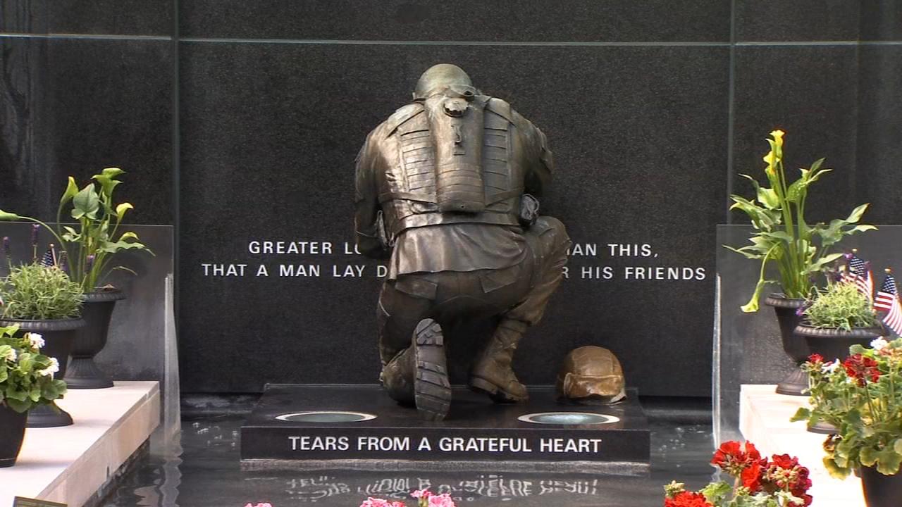 Poppy Wall of Honor in Washington remembers 645,000 fallen