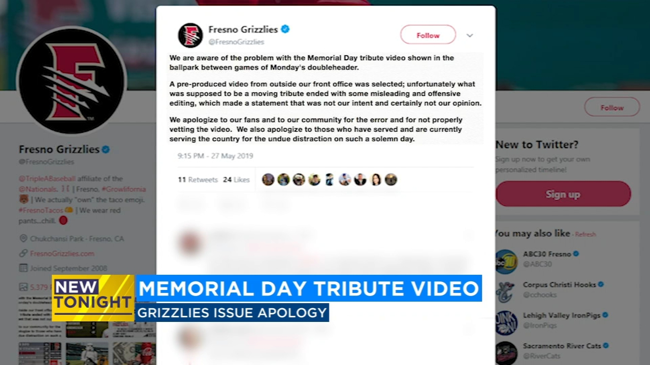 Fresno Grizzlies apologize for controversial Youtube video ... on