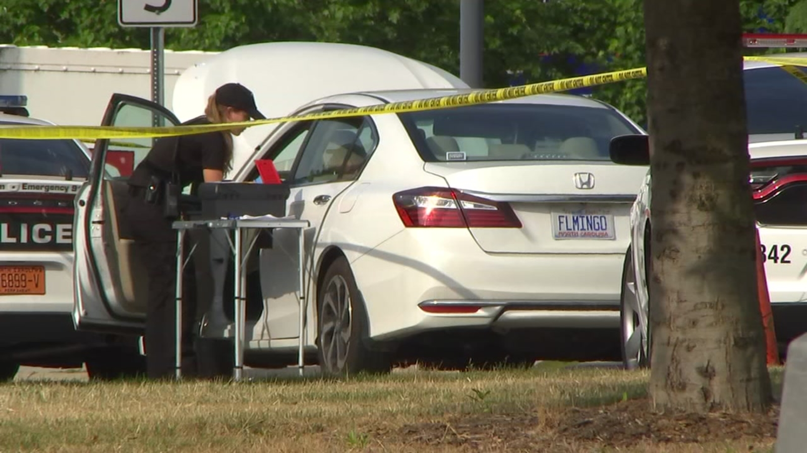 Image result for 16-year-old found shot, killed in vehicle at Duke University Hospital