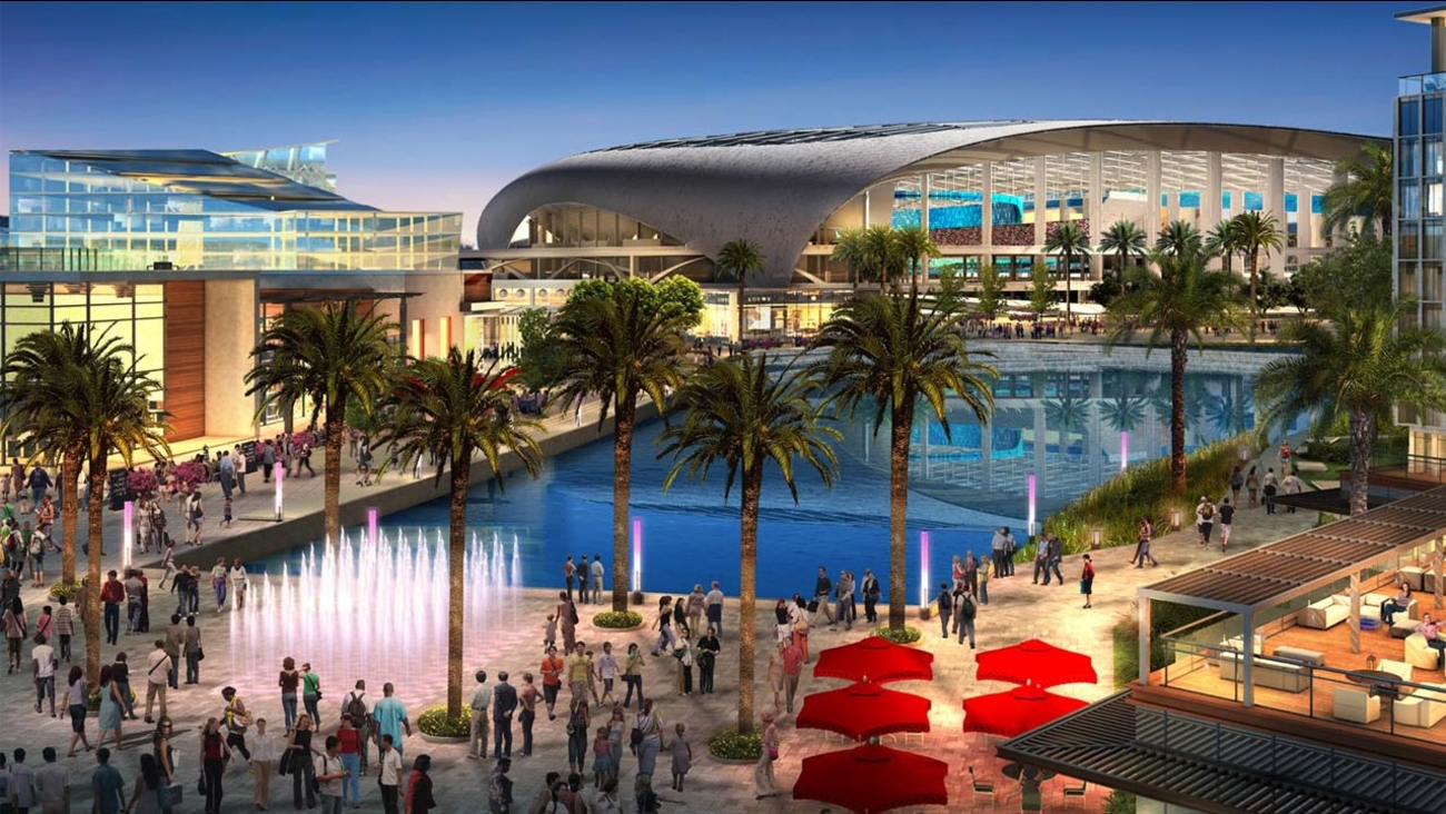 NFL owners approved a stadium proposal in Inglewood and the return of the Rams to Los Angeles on Tuesday, Jan. 12, 2016.