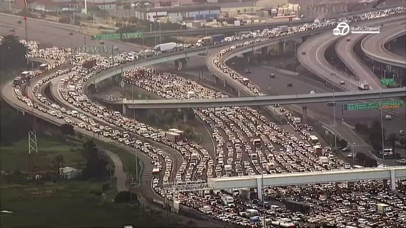 Deadly Bay Bridge crash snarls morning traffic | abc7news com
