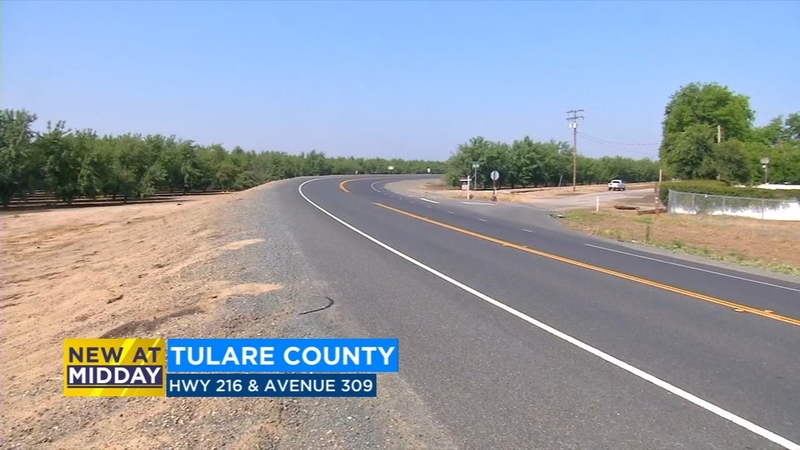 Man ejected from motorcycle, killed in Tulare County crash