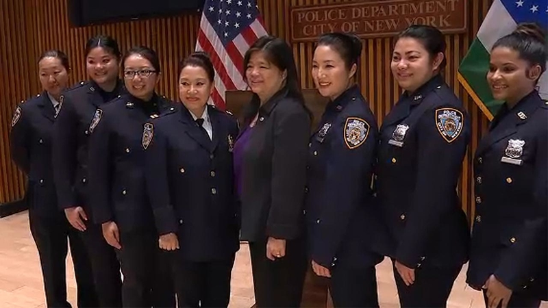 Asian women in NYPD ranks offer hope for future enrollment