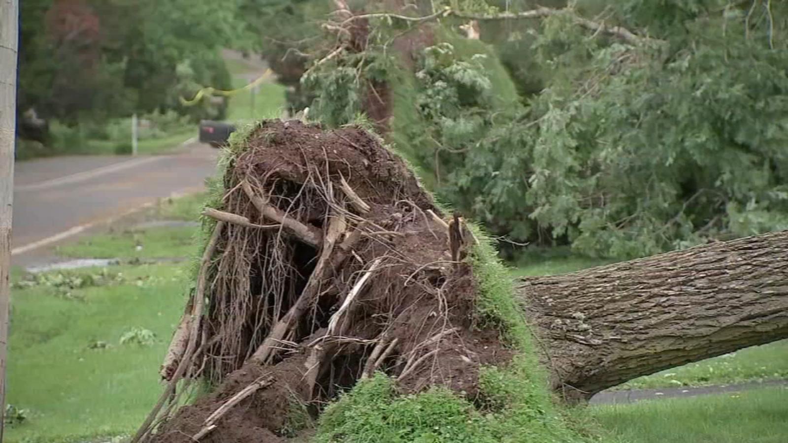 severe weather wreaks havoc in montgomery county