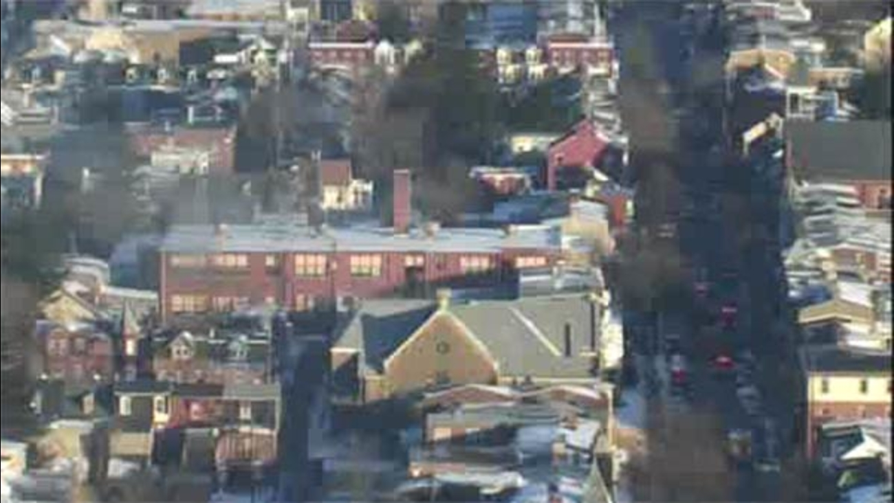 Fire damages Allentown school, giving students a day off