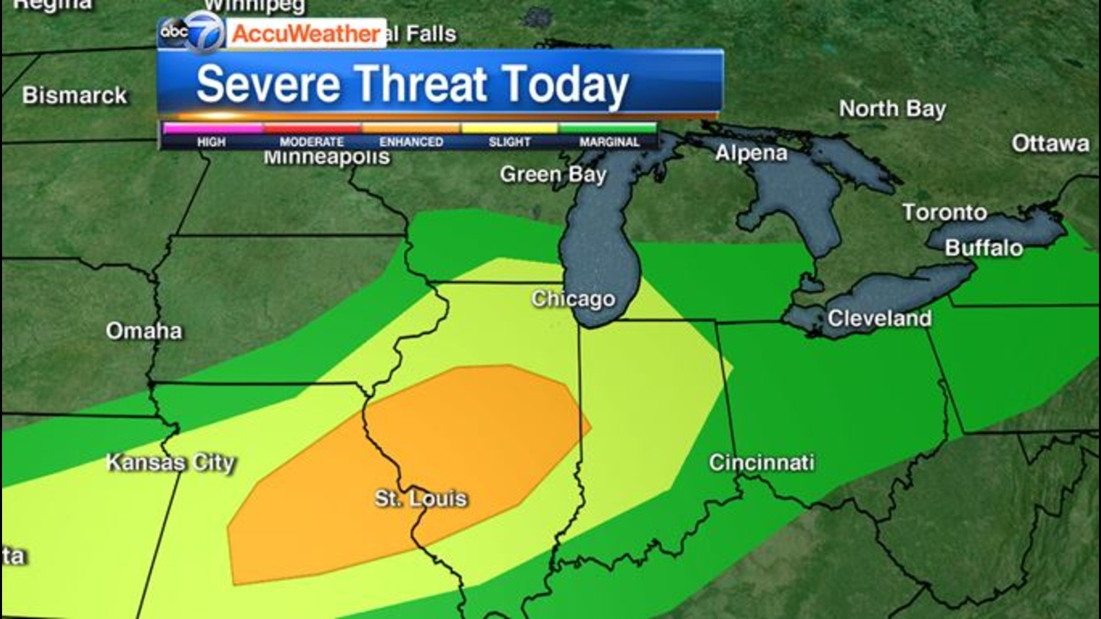 Chicago Weather Live Radar: Severe storms expected Saturday