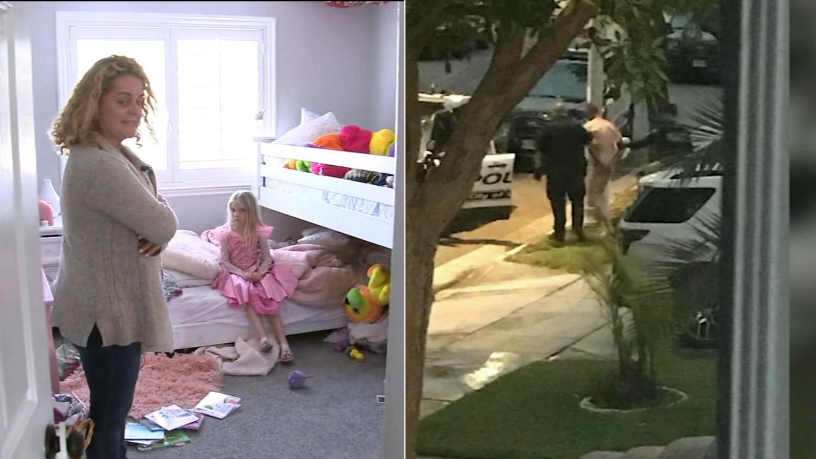 Naked intruder on drugs terrorizes Corona family   ABC7