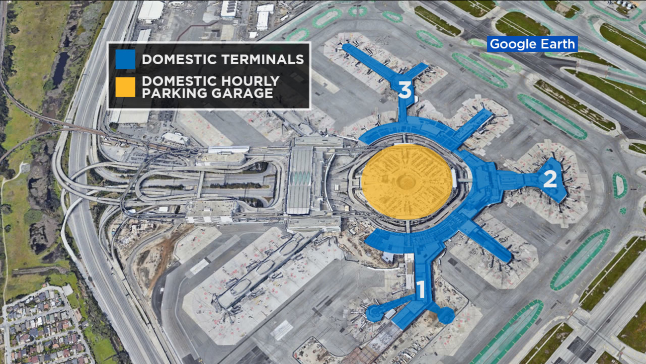 SFO International Airport moving all rideshare pick-ups at ... on ord map, ewr map, car map, cleveland airport terminal map, iah map, iad map, mke map, ksfo gate map, hnl map, cvg map, mco map, lax map, bart map, bay area airports map, cmh map, key west airport terminal map, bos map, mexico city airport terminal map, sna map,