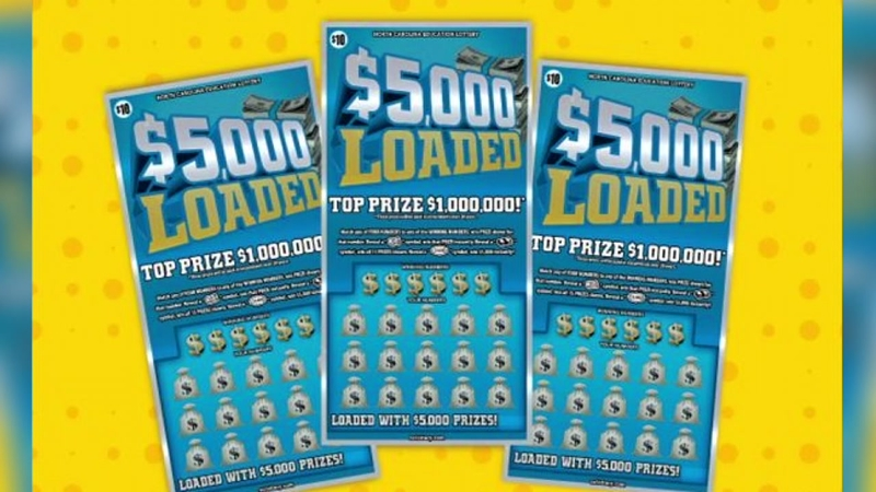 Army vet wins $1 million in NC scratch-off