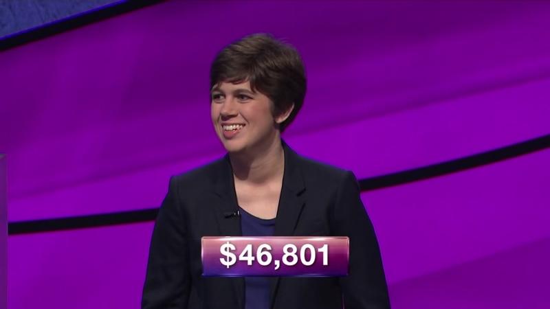 Jeopardy champion Emma Boettcher earned masters from UNC