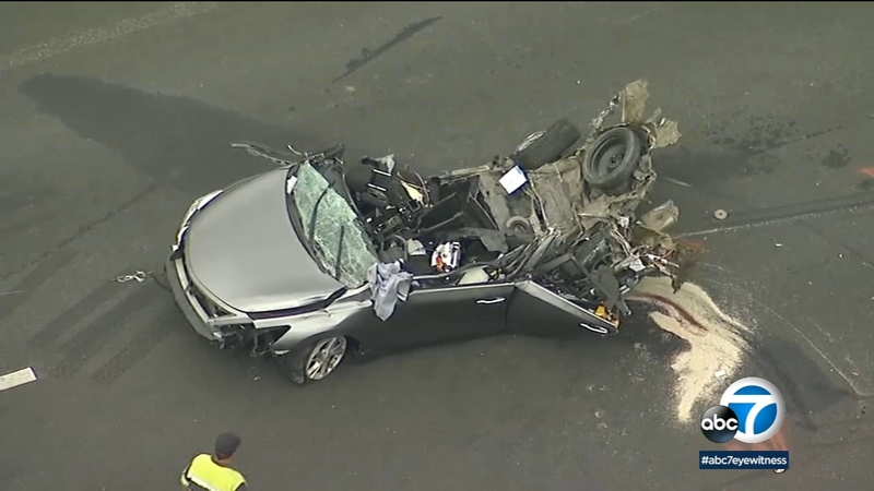 1 killed, 3 hurt in Temecula freeway crash