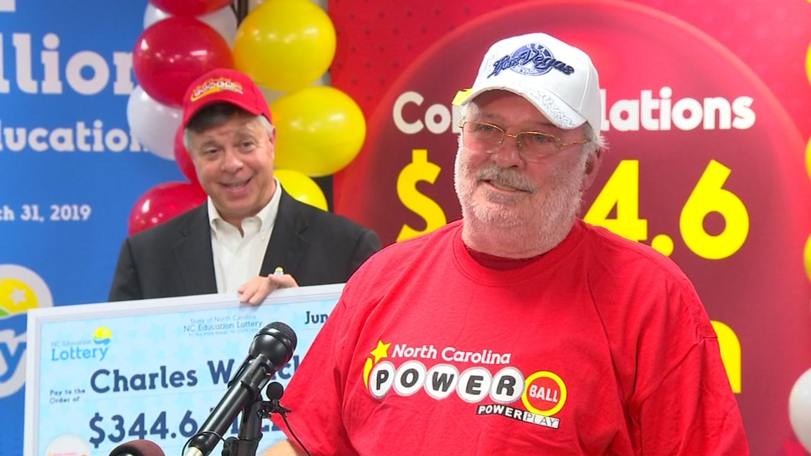 Powerball Winner North Carolina Man Who Played Fortune Cookie Numbers Wins 344 6 Million Powerball Jackpot Abc7 Los Angeles