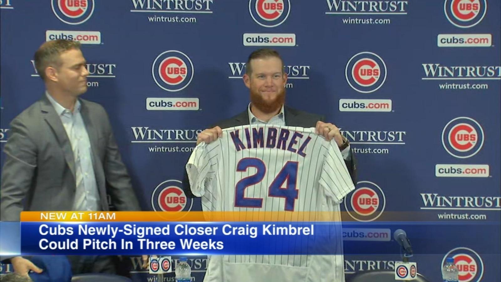 Kimbrel, Cubs finalize $43M, 3-year deal