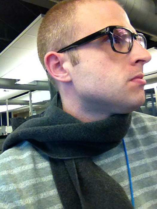"""<div class=""""meta image-caption""""><div class=""""origin-logo origin-image none""""><span>none</span></div><span class=""""caption-text"""">It's so cold in the newsroom that producer Keith whipped out the scarf (KTRK Photo)</span></div>"""