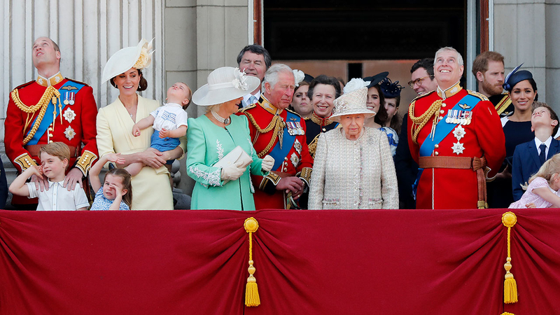 Pomp, parade marks Queen Elizabeth II's official birthday