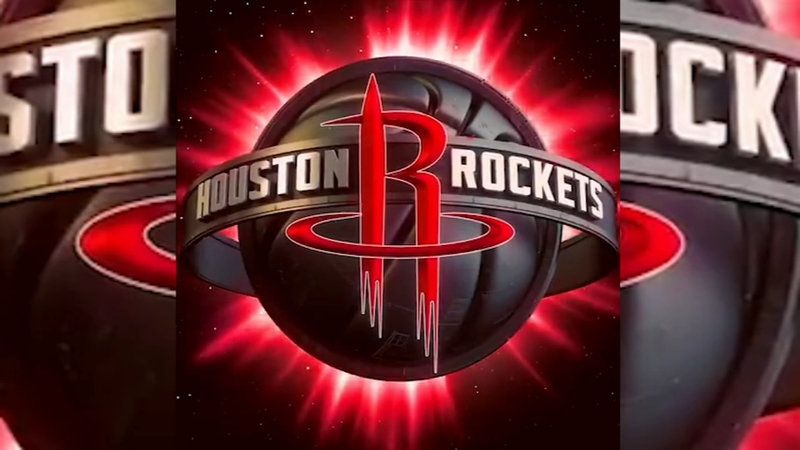 hot sale online fb5e1 35215 Houston Rockets reveal new logo