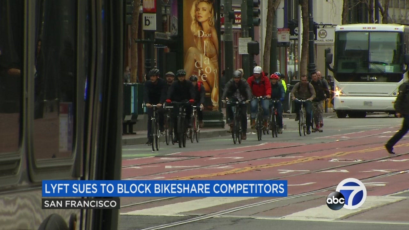 Lyft sues San Francisco to block bikeshare competitors from getting permits