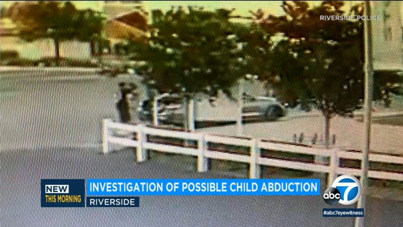 Riverside police investigating possible child abduction