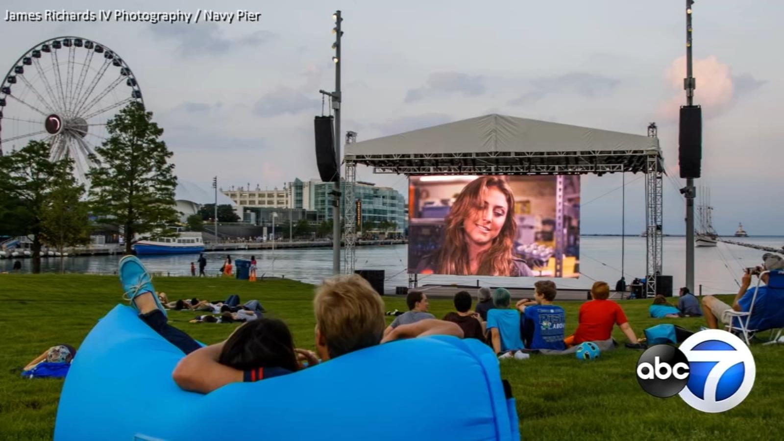 Navy Pier's 'Water Flicks' has a super lineup this summer