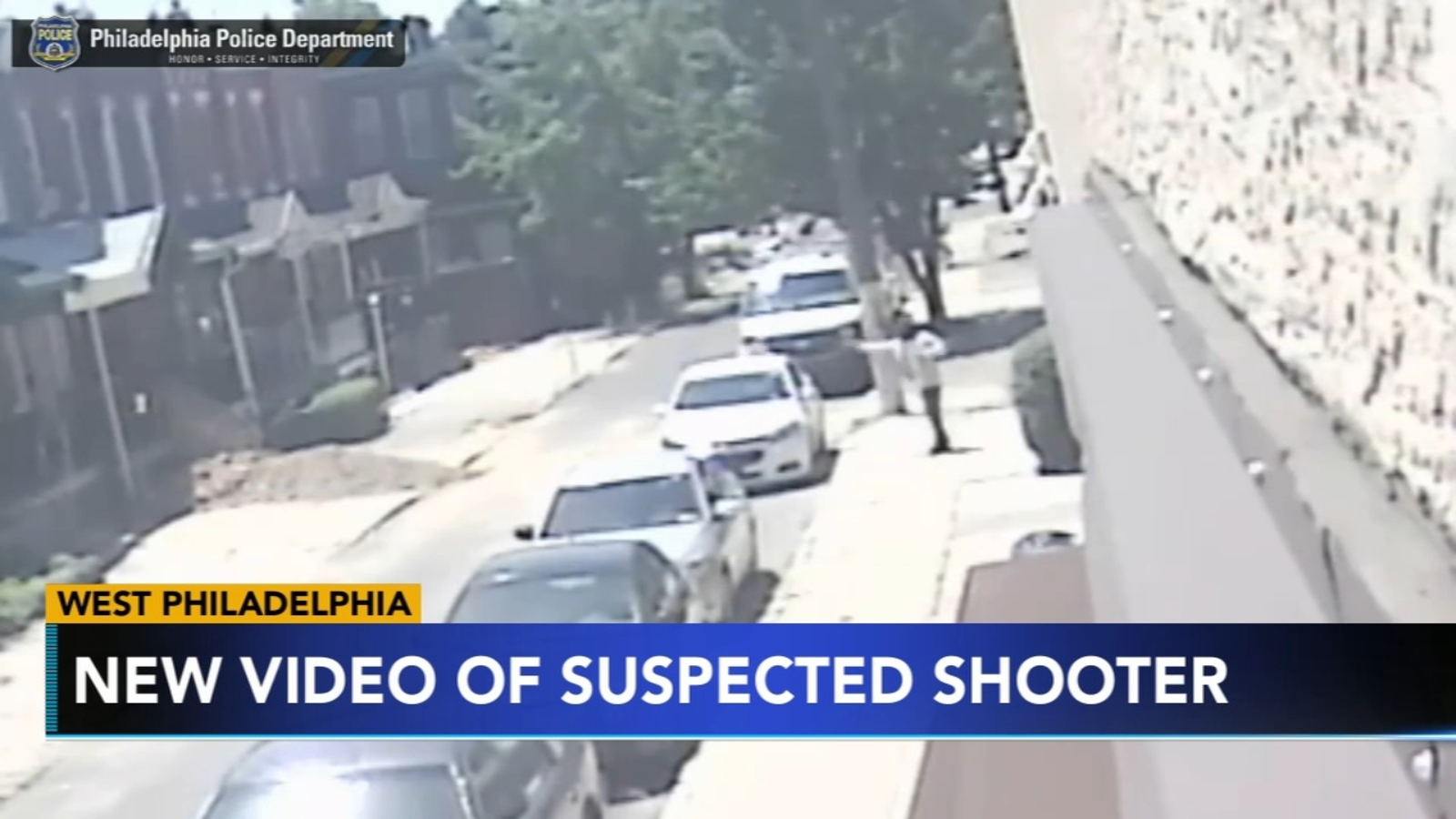 New video shows triple shooting in West Philadelphia