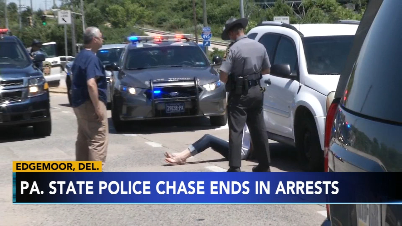 Police chase   6abc com