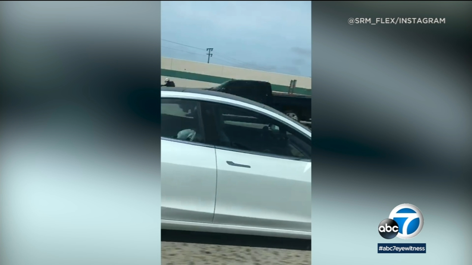 VIDEO: Driver apparently fast asleep while Tesla is on