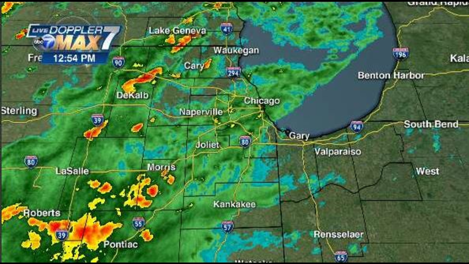 Chicago Weather Radar: Heavy rain, storms possible Wednesday