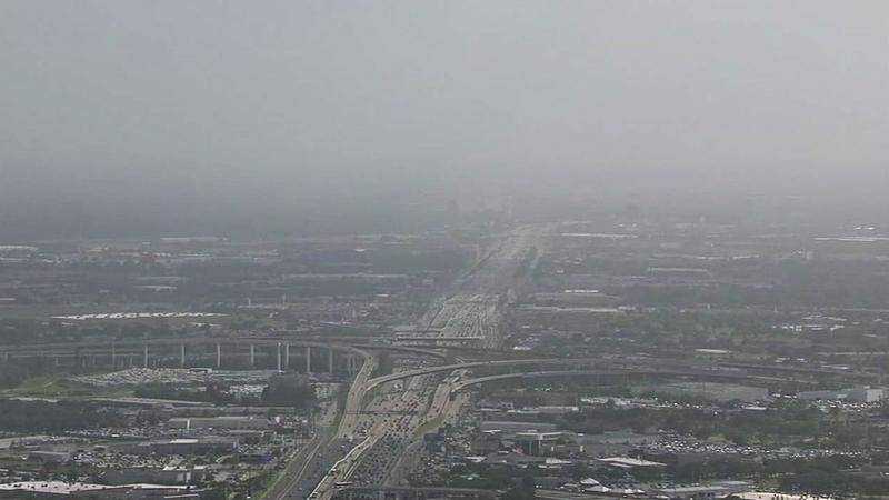 African dust cloud will turn skies gray this weekend
