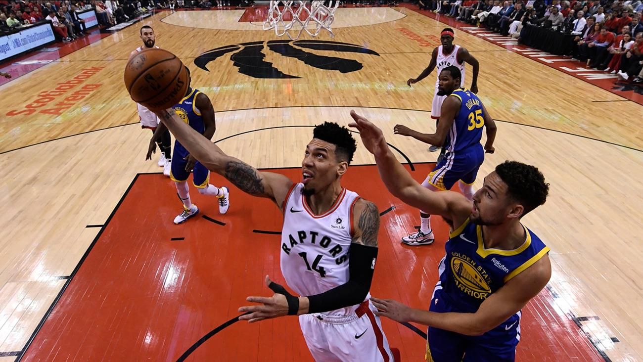 d6de77d735f Toronto Raptors beat Golden State Warriors, land first-ever NBA  championship | abc11.com
