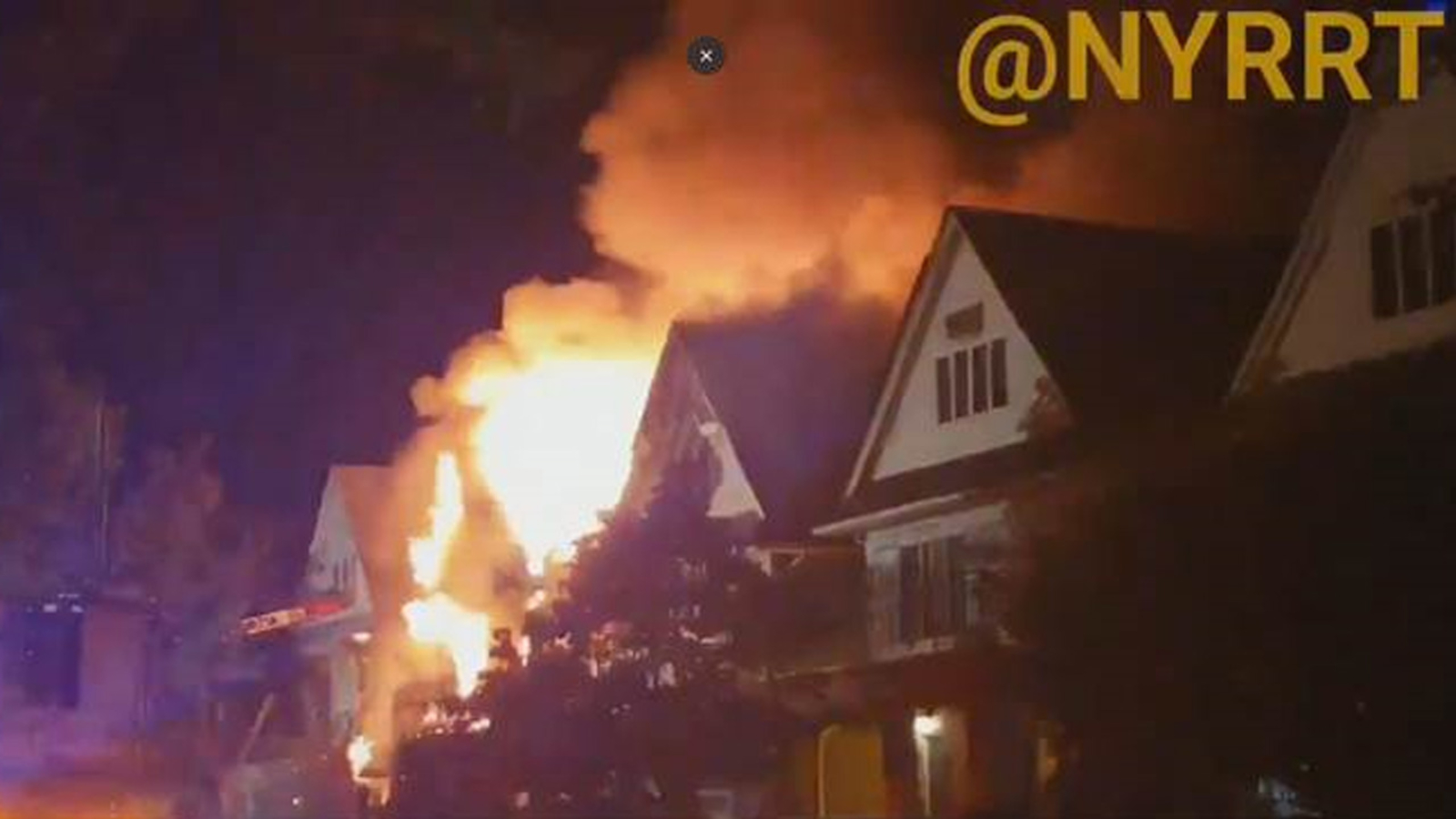 Man charged in connection with fire that targeted Brooklyn rabbi's home