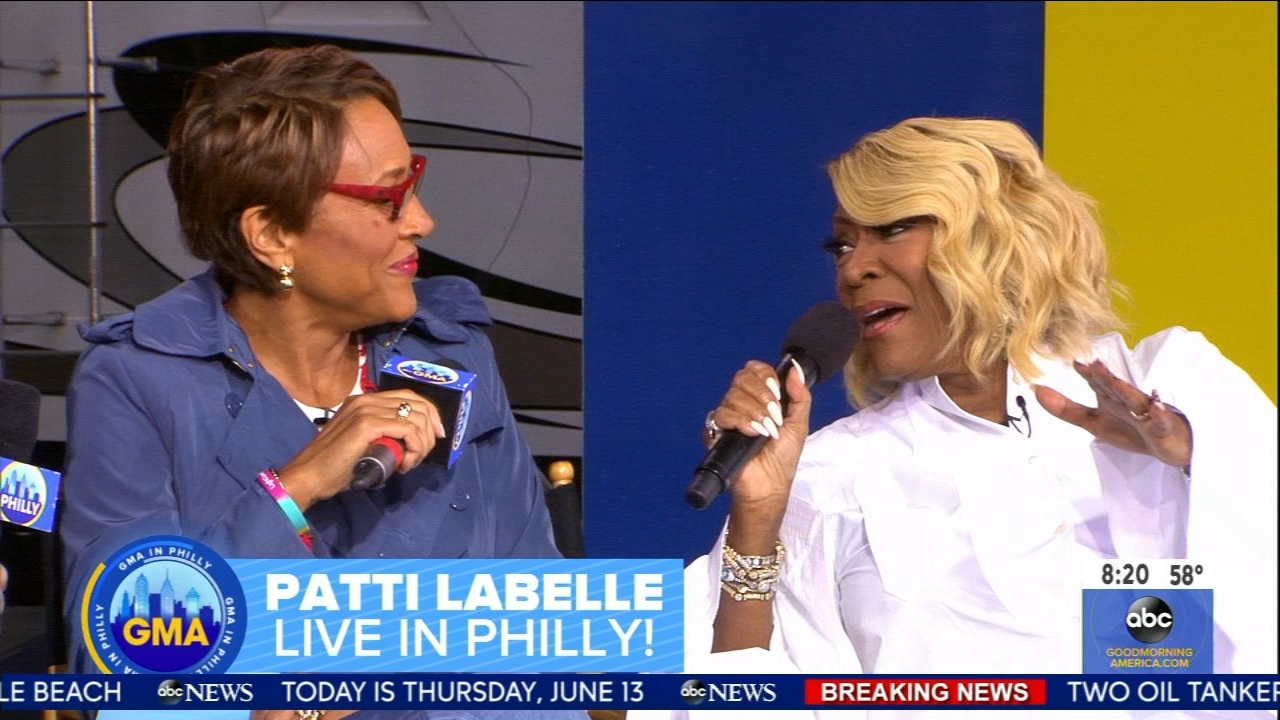 GMA In Philly: What rain? Philly shines bright during 'Good Morning