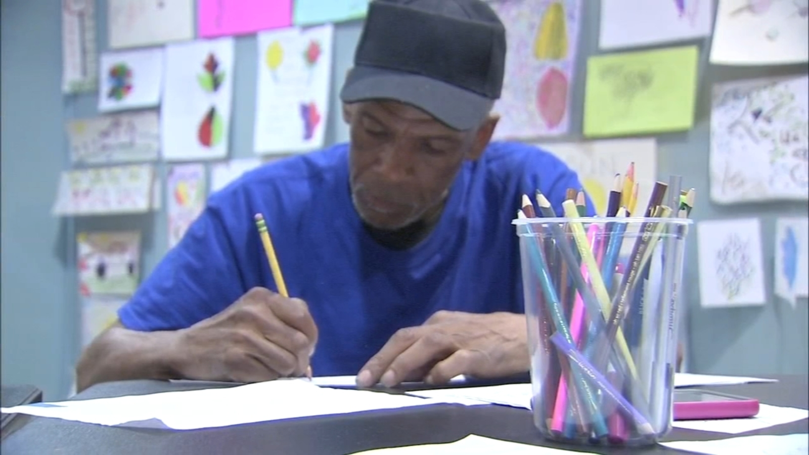 'Color Me Back:' Philly homeless create life-changing art