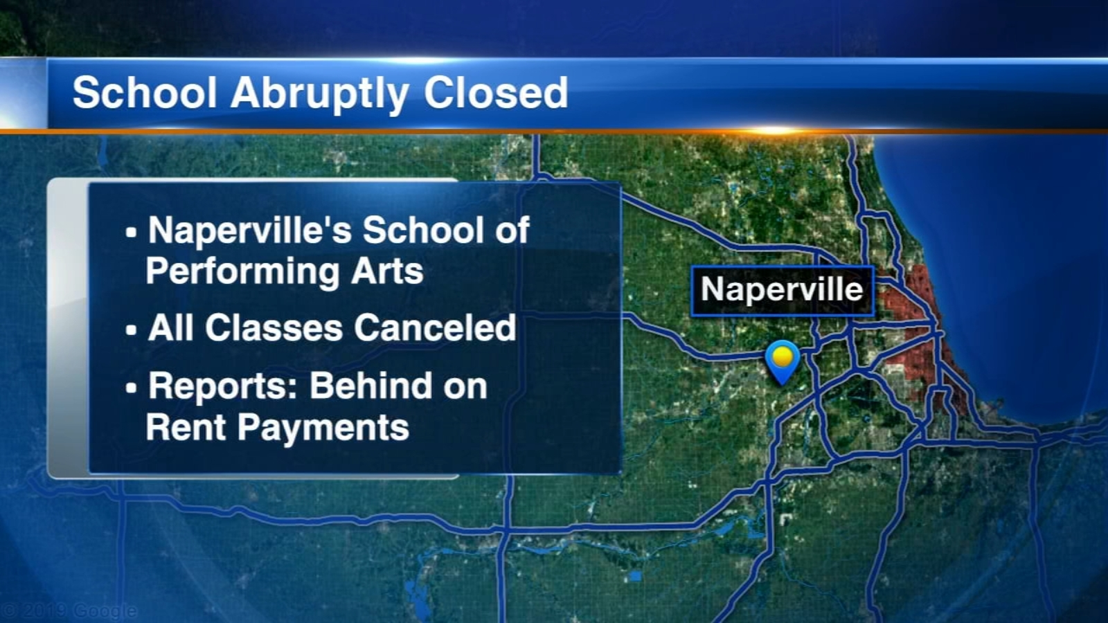 Naperville's School of Performing Arts suddenly closes, owner files for bankruptcy protection