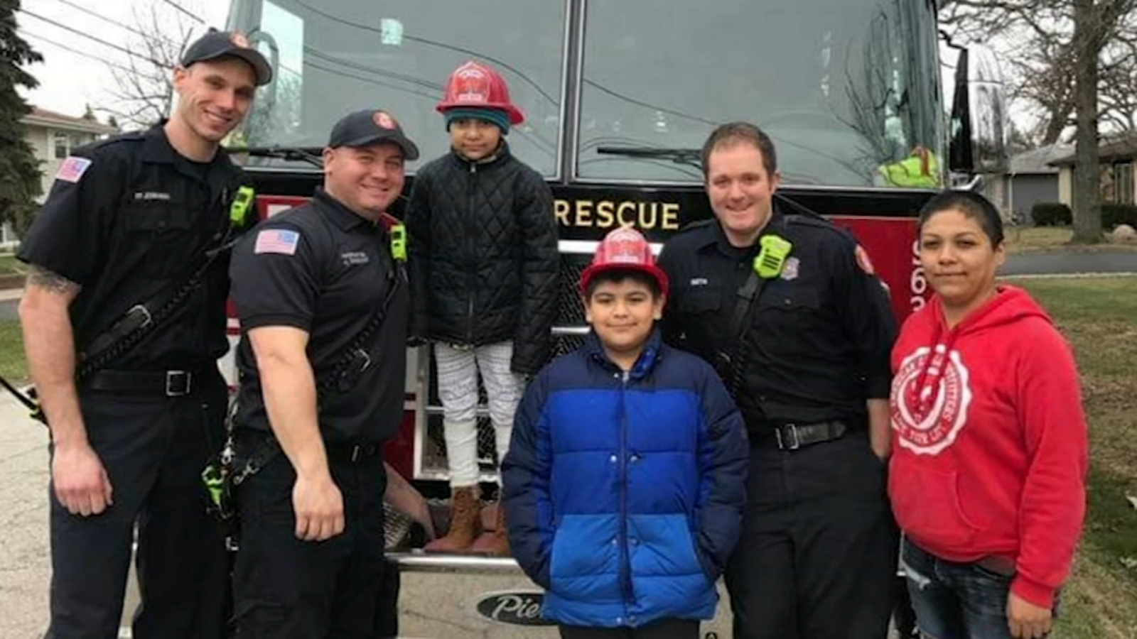 Oak Forest Fire Dept. launches Project Fire Buddies for kids battling illnesses