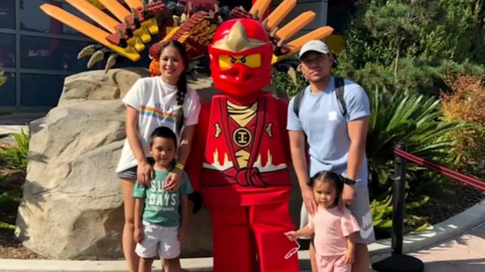 Legoland visitor catches peeping tom while she, toddler were changing in theme park